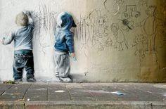 Street Art... TIME AGO (mural)