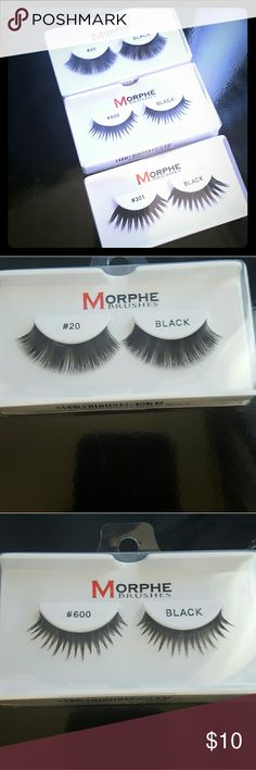 bff156f68c4 Morphe Lashes Three pairs, all brand new. Makeup False Eyelashes All  Brands, Morphe