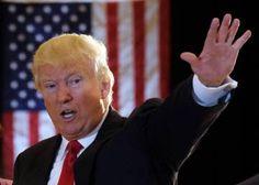 Donald Trump va a la guerra con la prensa después de hacer la donación de veteranos