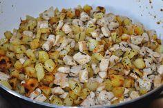 Cuocete il tutto in una padella Snack Recipes, Snacks, Vegetables, Food, Snack Mix Recipes, Appetizer Recipes, Appetizers, Vegetable Recipes, Eten