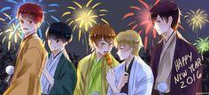 Happy New Year Team Otori