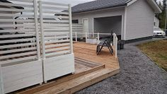 White Sun Cottage: toukokuuta 2015 Cabo, Garden Ideas, Deck, Cottage, Backyard, Sun, Outdoor Decor, Home Decor, Patio