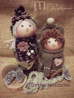 bamboline angelo decorazione 18cm