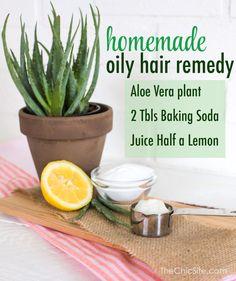 Oily Hair DIY -TheChic