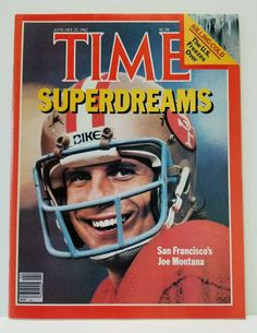 bc403cd788c938 January 25, 1982 Time Magazine Joe Montana San Francisco 49ers Super Dreams  #Magazine Headband