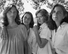 The 4 Brown Sisters - 1985, Allston, Mass