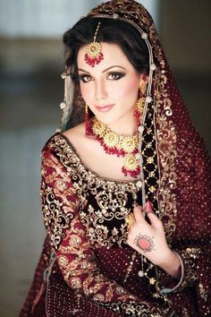 This is a Pakistani Bridal Dress, reminds me of the movie one night with the king the story of Esther!
