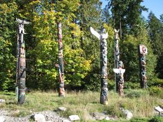 I have seen the Totem Poles at Stanley Park, Vancouver up close and personal.