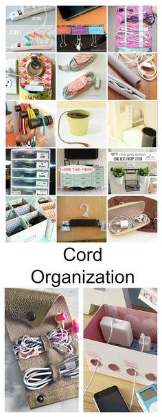 Cord Organization - The Idea Room