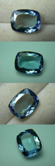 Tanzanite 4195: 2.16Ct Rare Fancy Tanzanite Blue Purple Gem Zoisite Tanzania Untreated Cushion -> BUY IT NOW ONLY: $217.49 on eBay!