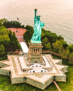 """Another Independence Day in the books for Lady Liberty. Monuments, Beautiful Places, Beautiful Pictures, Visit New York City, I Love America, City Aesthetic, Sculpture, Nyc Girl, Vacation Spots"
