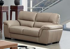 Leather Reclining Loveseat, Leather Sofa Set, Loveseat Sofa, Leather Furniture, Couches, White Leather, Sofa Next, Living Room Sofa Design, Furniture Upholstery