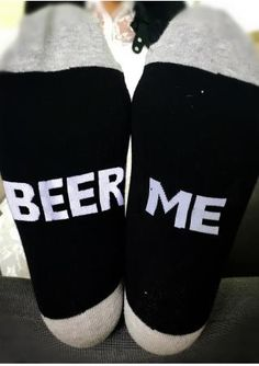 Beer Me Color Block Warm Socks