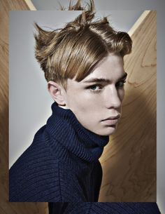 THE ARCHITECT (December 2013): Photography RAMA LEE Stylist KEVIN KIM Photography Assistant DERRICK KAKEMBO Hair ATSUSHI TAKITA using Bumble and Bumble Make Up JESSIE LIM Model TOBY BINGE at ELITE LONDON