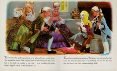 Deluxe Living Story Book Cinderella 1967 pg 8 | Flickr – Compartilhamento de fotos!