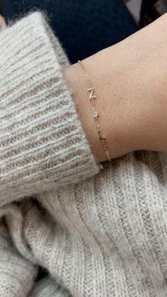 Jewelry Kits, Nose Jewelry, Dainty Jewelry, Jewlery, Gold Ring Designs, Gold Earrings Designs, Monogram Jewelry, Meaningful Jewelry, Valentines Jewelry