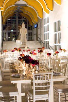 An Intimate Dinner On Sam S Grand Staircase Photography Jennifer Boyle Florist