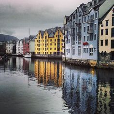 Aalesund, Norway. What Venice? That's beetter