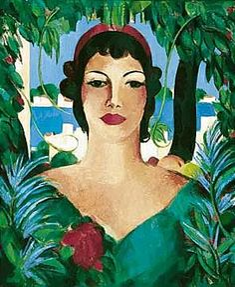 John Duncan Fergusson, HONIA - plus size women in art