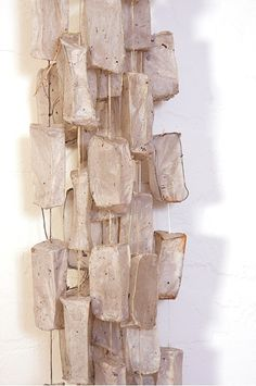 i'm loving lori b. goodman's  amazing installations created from bamboo and kozo paper. kozo has an amazing transparent quality to it and th...