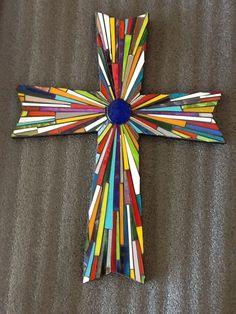 Crosses- Mosaic Madness by Jill Kernodle - jillsmosaicmadness.com