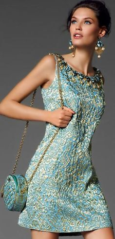 #Dolce & #Gabbana #glam #luxury #dress #accessories #woman #fashion #style #bags #Chanel