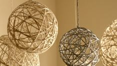 The best DIY projects & DIY ideas and tutorials: sewing, paper craft, DIY. DIY Christmas String Ornaments and Lanterns Video Description These delicate ornaments don't have to be used just for Christmas, I plan on keeping these Rustic Christmas Ornaments, Christmas Lanterns, Diy Christmas Tree, Christmas Decorations, Wedding Decorations, Christmas Balls, String Lanterns, Hanging Lanterns, Diy Hanging