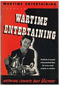 """""""Wartime Entertaining"""" World War II Servicemen Children Parties Menus Decoration Victory Garden, Food Illustrations, World War Ii, Nostalgia, Lunch, Graphics, Entertaining, Children, Classic"""
