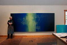 Janice Mason Steeves in her studio