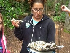 Sharing, campfire lunch, catfish.