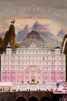 The Grand Budapest Hotel - British - German - Filmed in Germany... I'm German :)
