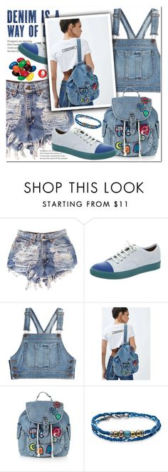 """""""A Way Of Life"""" by queenvirgo ❤ liked on Polyvore featuring Moschino, Topshop and Platadepalo"""