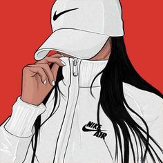 """Find and save images from the """"Dope Art"""" collection by samiyamaharaj (ThatsTooMuchSauce) on We Heart It, your everyday app to get lost in what you love. Black Girl Art, Black Women Art, Black Art, Art Girl, Arte Dope, Dope Art, Tumblr Drawings, Cute Drawings, Dope Kunst"""