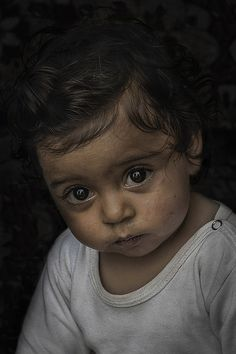 Gypsy little kid ..