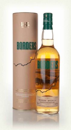 R&B stands for Raasay and Borders, with the company building distilleries on the Isle of Raasay and (hopefully, at the time of writing) Peebles. Scotch Whisky, Whiskey Bottle, Vodka Bottle, Grain Whisky, Malted Barley, Single Malt Whisky, Wine And Beer, Bottle Labels, Distillery