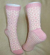 Block Party Socks   by Kathryn C.