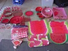 Watermelon kitchen decorations