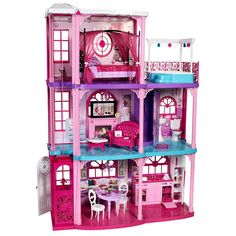 Barbie 3 Story Dream Town House | eBay i had a house like this when i was a little girl