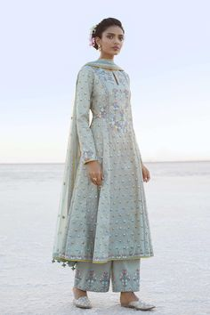 Wedding Dresses - Find Bridal Dresses & Indian Wedding Outfits - Anita Dongre - Designer Suits – Buy Millia Suit for Women Online – Blue – Anita Dongre Source by hossyxsharif - Kurti Designs Party Wear, Lehenga Designs, Dress Designs, Pakistani Dress Design, Pakistani Outfits, Indian Wedding Outfits, Indian Outfits, Indian Fashion Dresses, Fashion Skirts