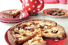Zoet & kruidig deze speculaastaart met abrikozen - Recept - Allerhande