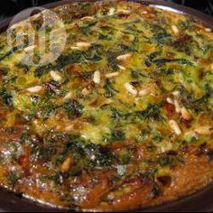Persian Style Baked Herb Omelette @ allrecipes.com.au