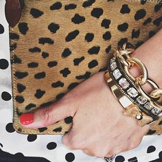 One Fine Day: LIFE'S LITTLE DETAILS . baubles and leopard bag