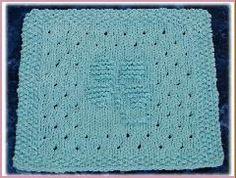 4 leaf clover dishcloth pattern - knit