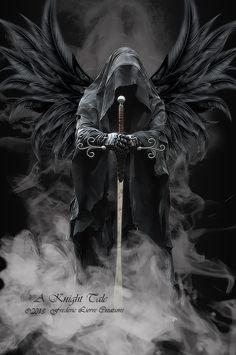 Model: VXLPhotography http://vxlphotography.deviantart.com/art/s-DSC2902-402123748 Wings: Denys-Roque http://denys-roque.deviantart.com/art/Angel-Negro-PNG-345527155 Smoke: tezrin http://tezrin.dev...
