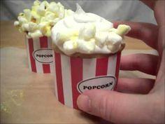 Marshmallow Popcorn Cupcakes Tutorial Video (Popcorn Cupcakes.wmv)   http://www.youtube.com/watch?v=9FFvvWVND7Y