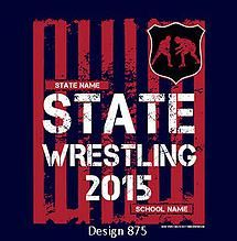 Cricket School Team Custom High School State Wrestling
