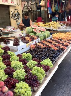 HaCarmel Market, Tel Aviv, Israel. The Carmel Market is Tel Aviv's main food and vegetable market, visit this charming place which is the heart of Tel Aviv's culinary culture.