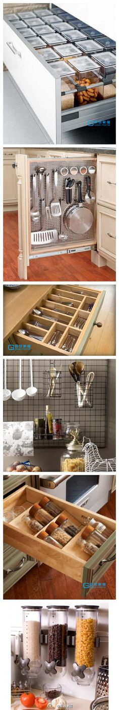 organizing the kitchen pantry