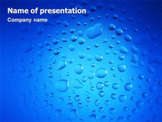 http://www.pptstar.com/powerpoint/template/drops/ Drops Presentation Template