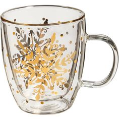 Christmas Mugs for the Holiday Season You'll Love | Wayfair ($19) ❤ liked on Polyvore featuring home, kitchen & dining, drinkware, filler, christmas drinkware, xmas mugs, christmas mugs, christmas champagne glasses and christmas tea cups